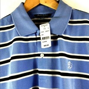 Brooks Brothers SS Striped Polo Shirt